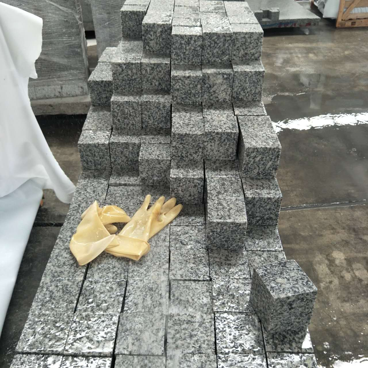Granite G602 Light Grey Cubestone