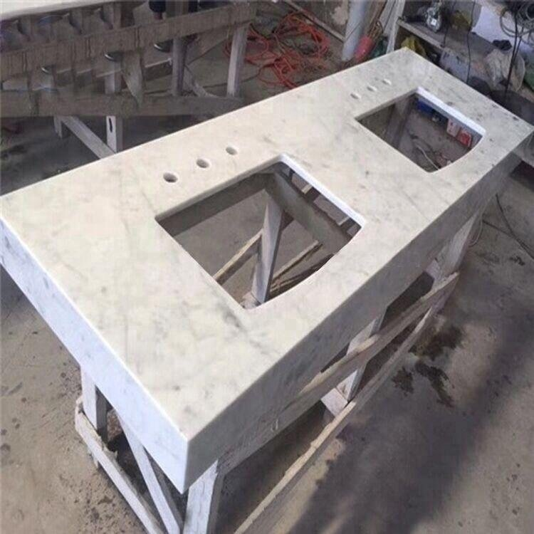 High Quality Carrara White Marble Countertop