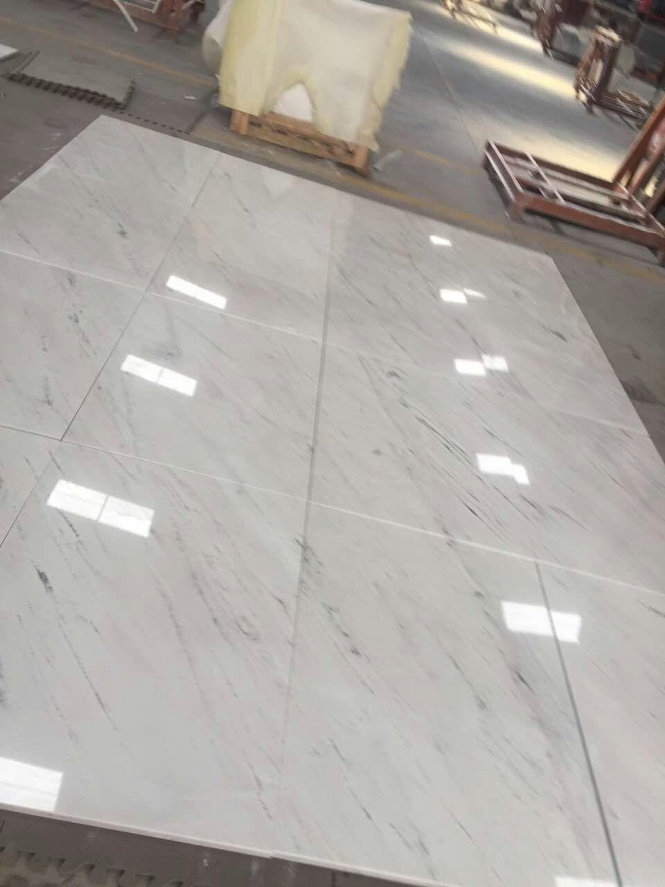 Sivec white marble tile