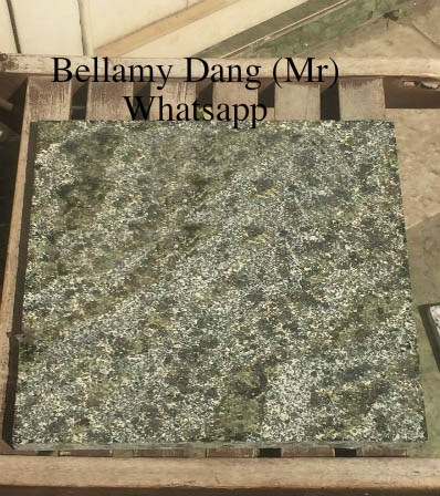 good price Flamed Black Natural Granite with Yellow Spotted DAV1