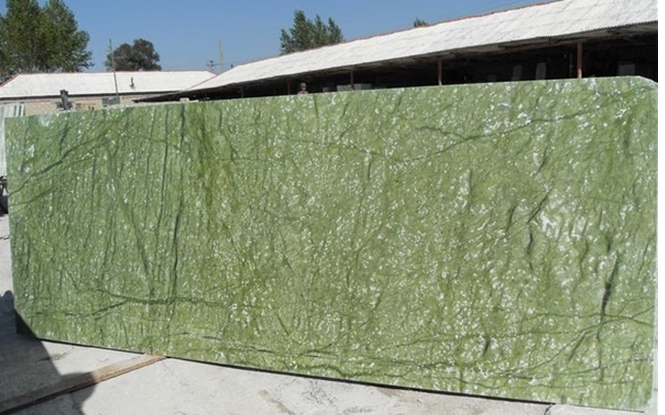 Dandong Green Marble Green Texture M2117 Marble Slabs light green