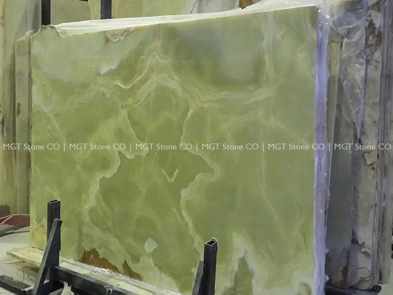 Green Onyx Slab