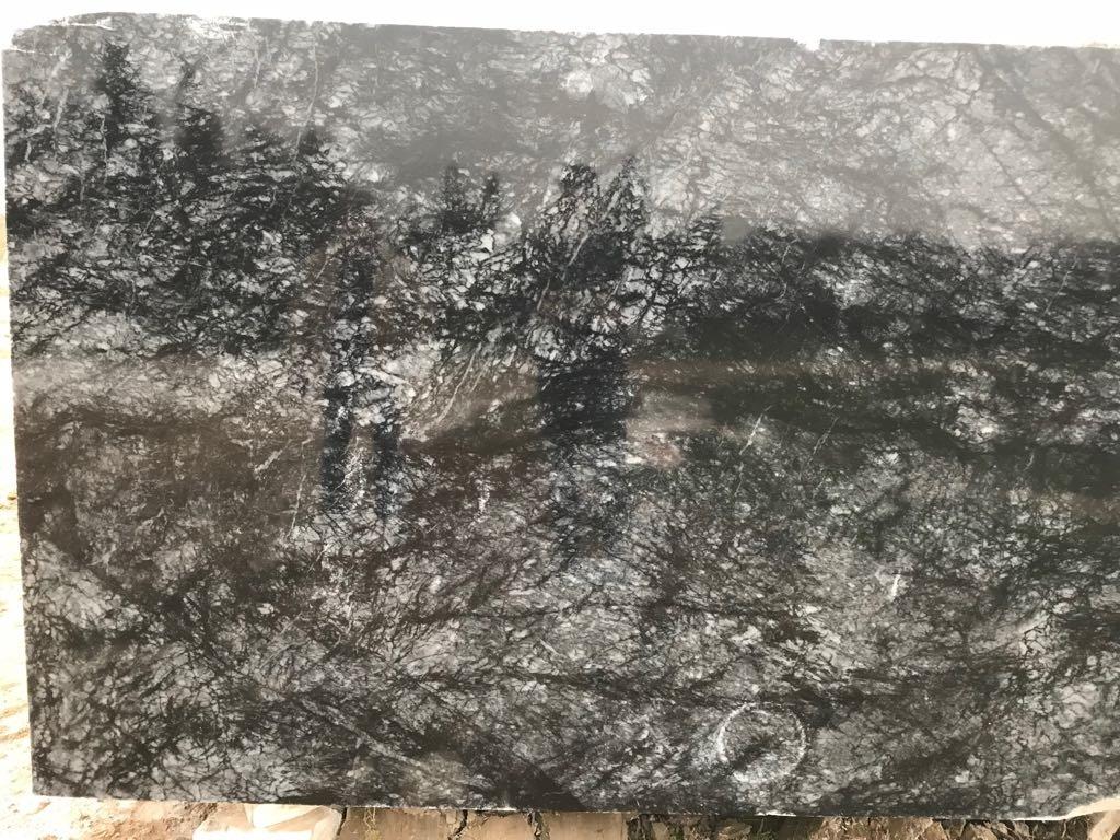 Dark Blue Marble Block