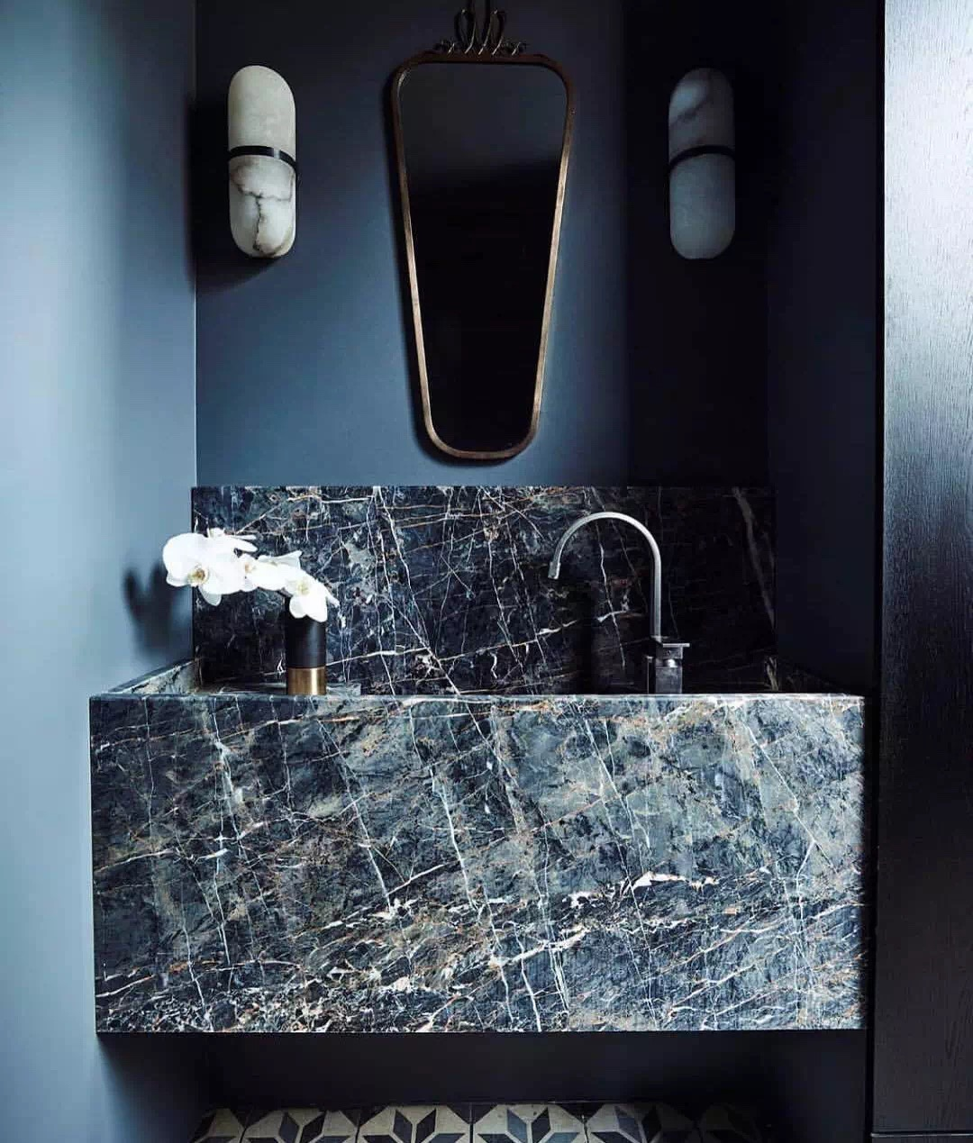 Greek Green Marble bathroom vanity tops countertops