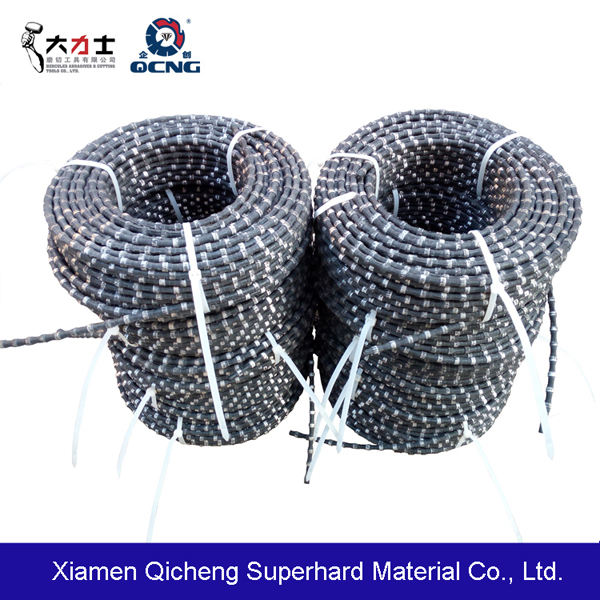 Diamond wire saw for stone qurry