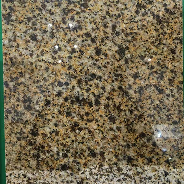 Dye yellow granite