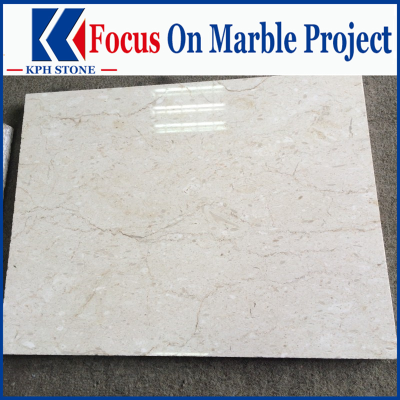 Earl Beige Marble Slabs for Palms Place Hotel and Spa