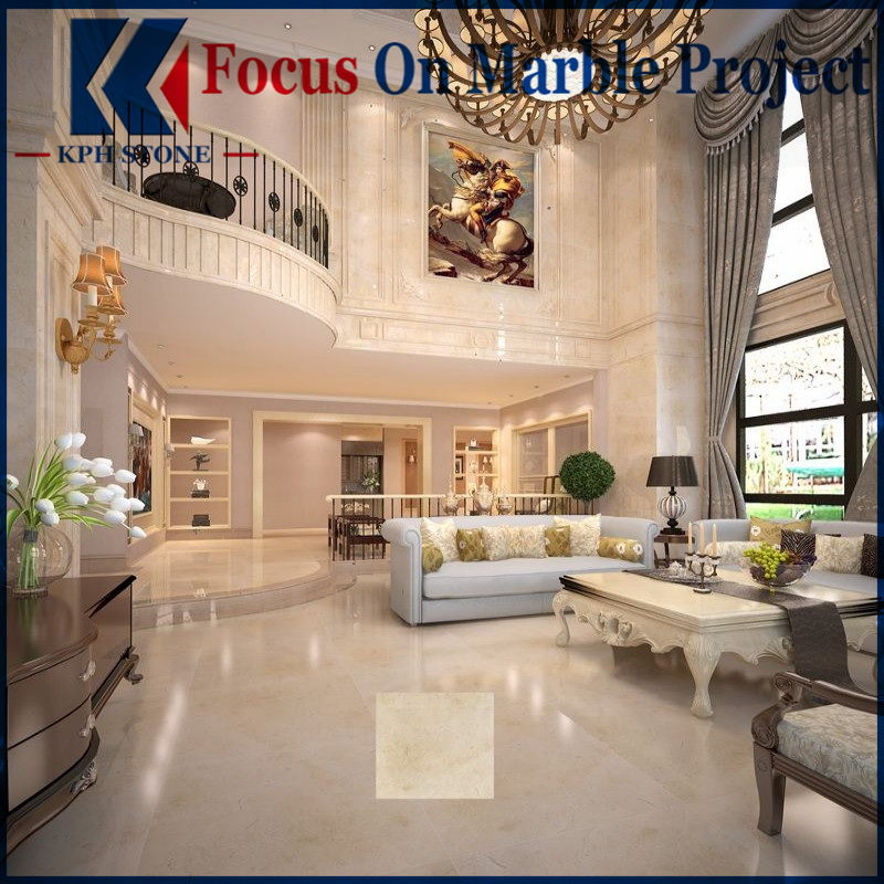 Earl Beige Marble Tiles House Decor