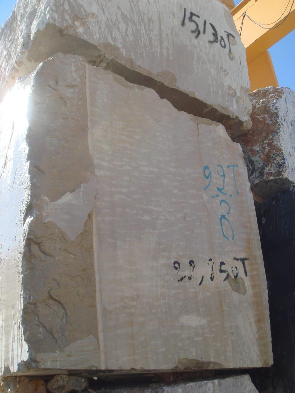 Beige Taza Limestone Blocks