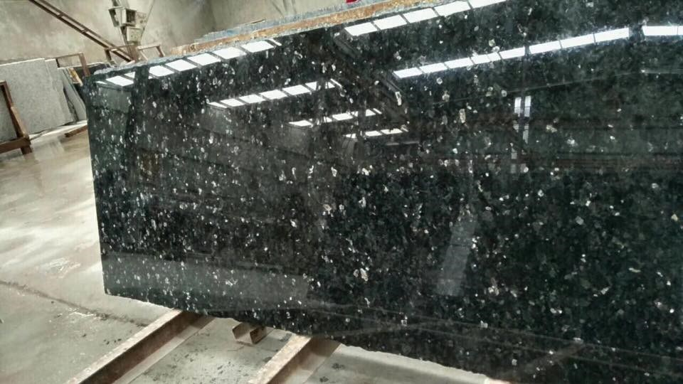 emerald pearl green granite countertop slab