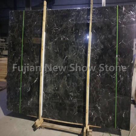 Dark emperador marble big slab