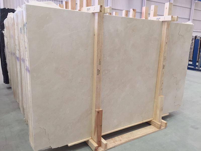 Crema Marfil Marble Slabs Polished Beige Slabs