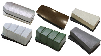 Granite fickert abrasive blocks