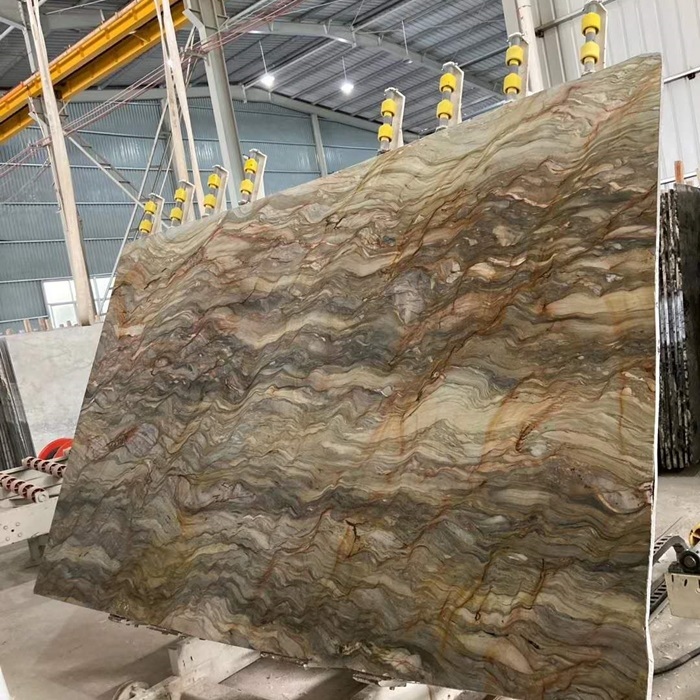 Fusion Gold Granite Slabs for Interior Design