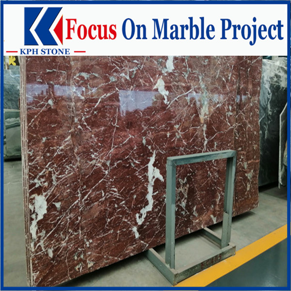 Future red marble