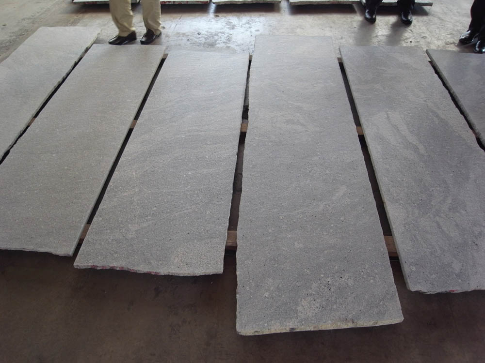G023 grey landscape stone from our own quarry