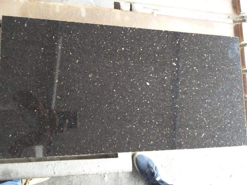 Star Galaxy Black Granite Slabs & Tiles