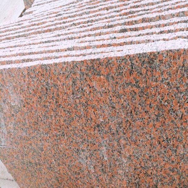G562 maple red granite slab