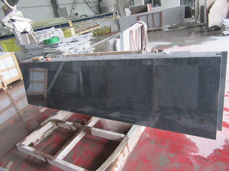 g654 impala black granite countertop