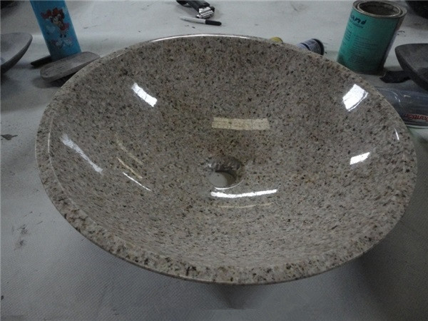 G682 Granite Vanity Sink Bathroom Washing Basin Bowl