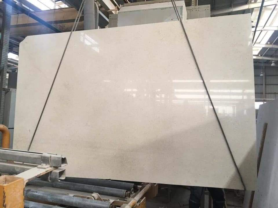 Galala Light Polished Marble Slabs