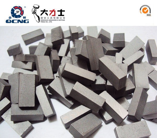 Diamond segment gangsaw segment for marble cutting