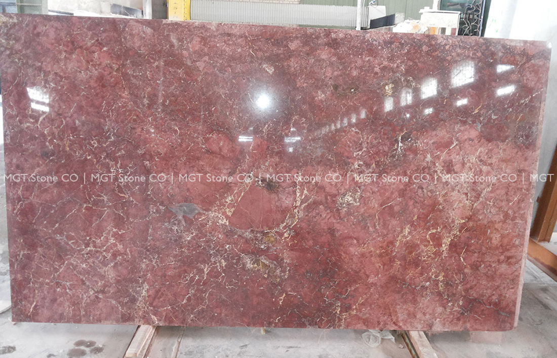 Golden Rose Marble Slab