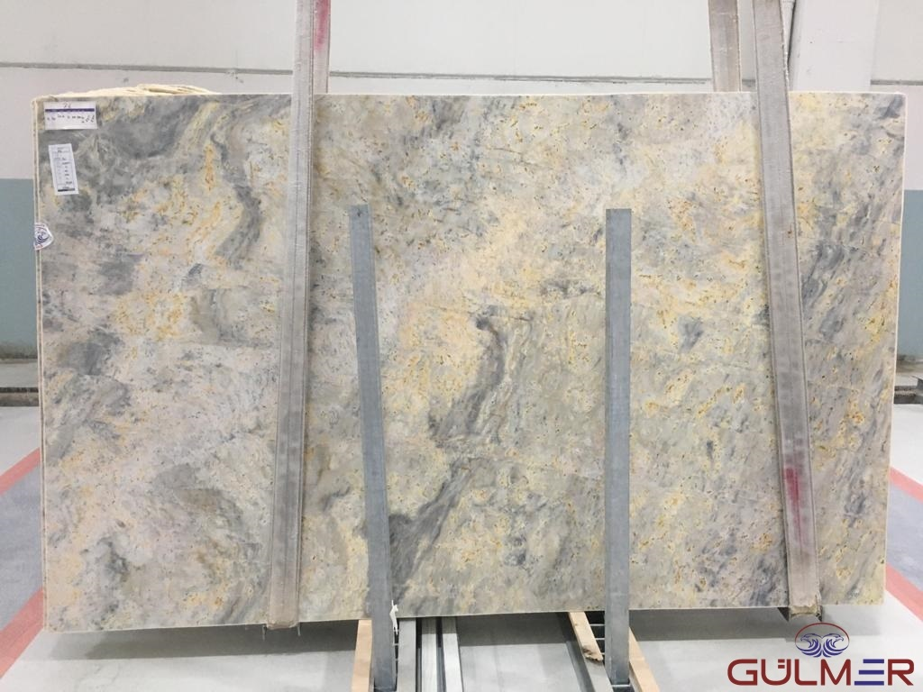 Golden Ocean Marble Slabs-CC