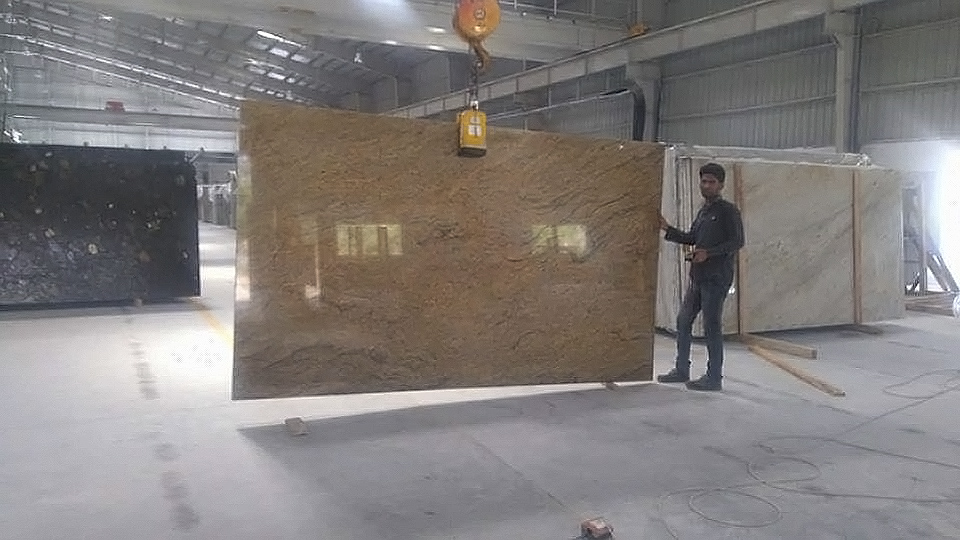 Golden Beach Granite Slabs
