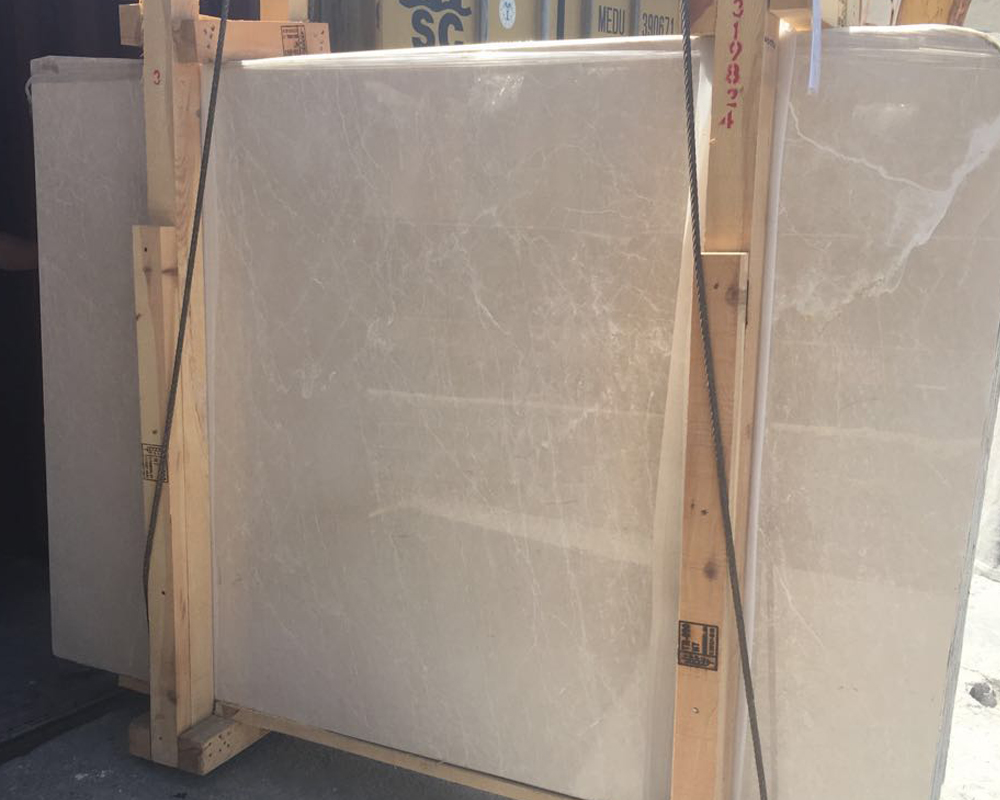 Turkish Cream Beige Marble