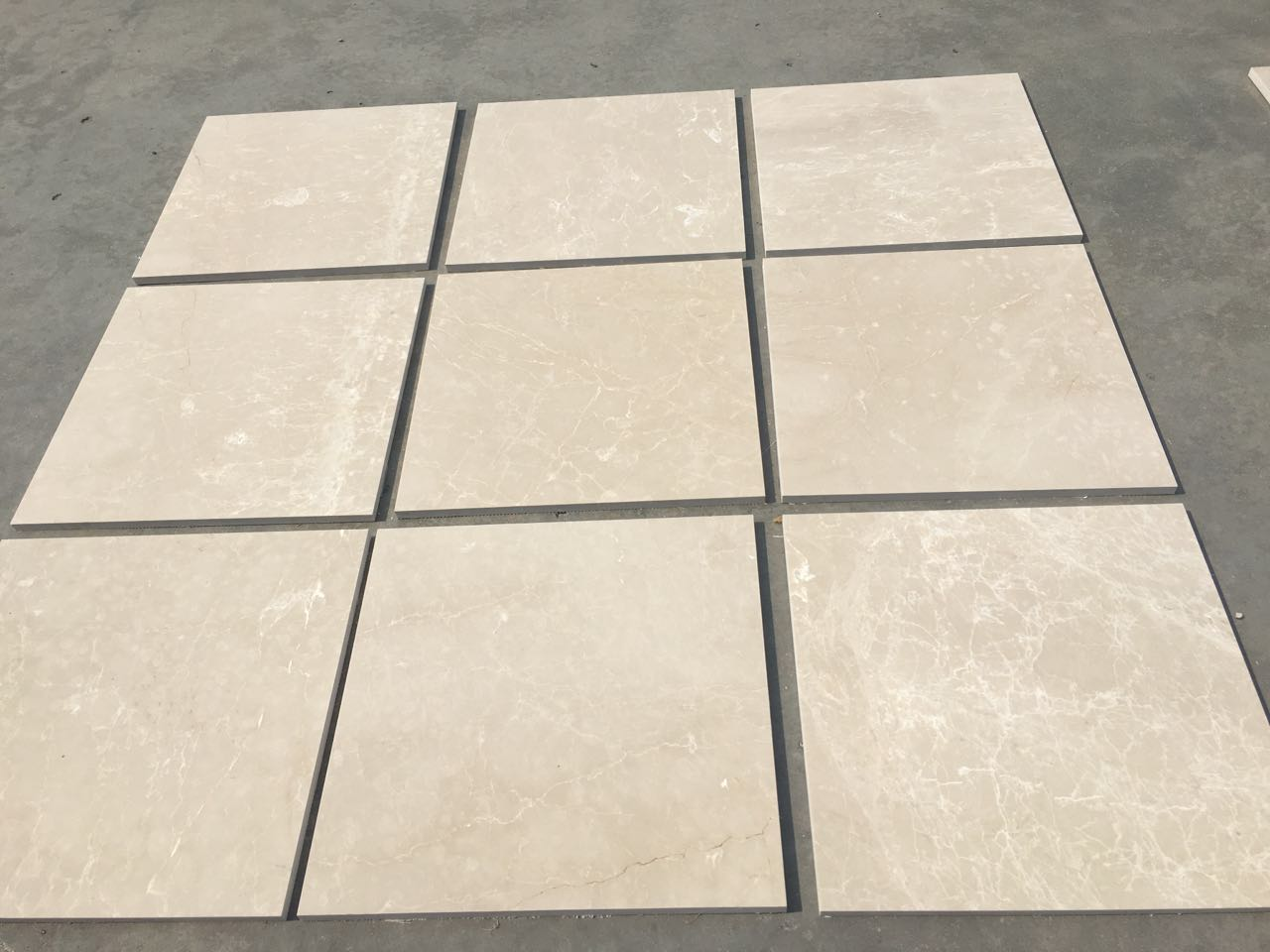 Turkish Cream Beige Marble Tiles