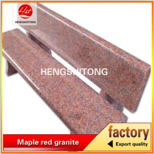 Granite manufacturer supply polished long and thick red granite