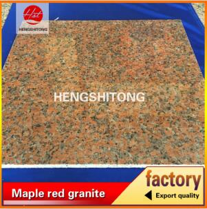 Top maple red granite G562 stone polished red granite