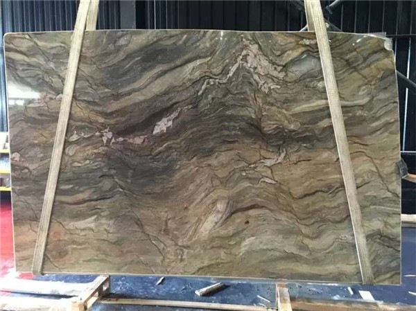 Green quartzite Slab For Bench Top