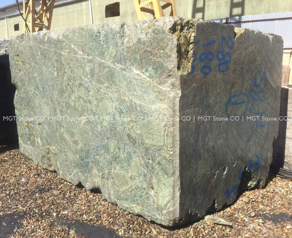 Forest Green Marble Block