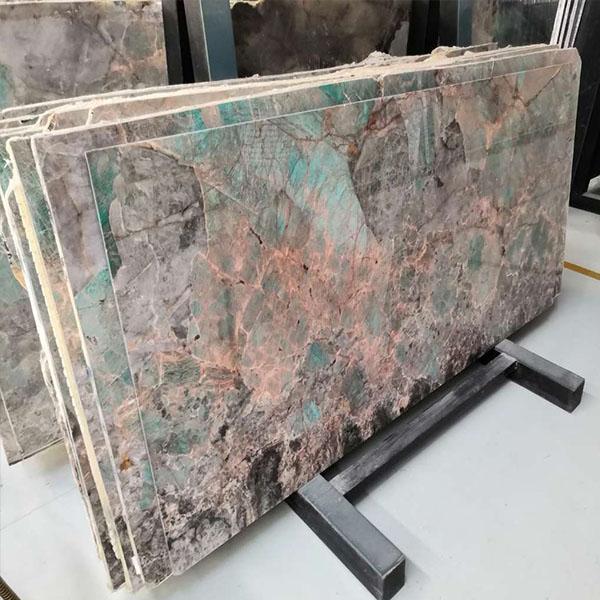 Green Amazzonite Stone