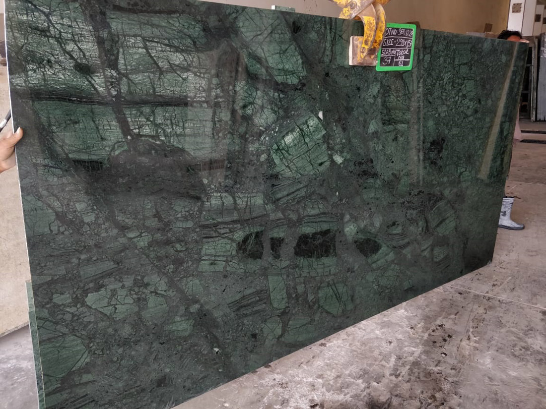 Udaipur Green Marble Polished Slabs