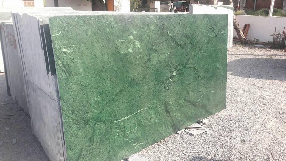 India green marble slab