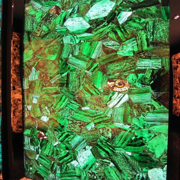 Green Agate Stone Slab