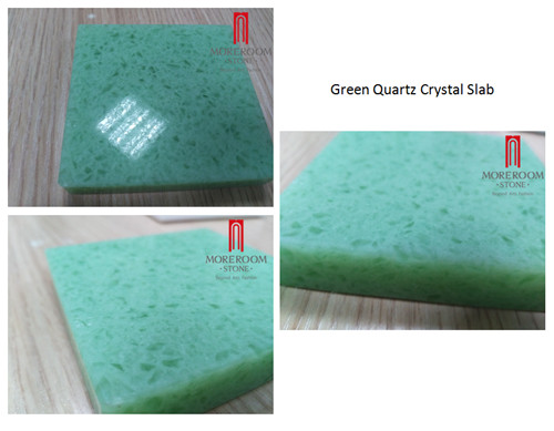 Green quartz slab  green quartz crystal tile