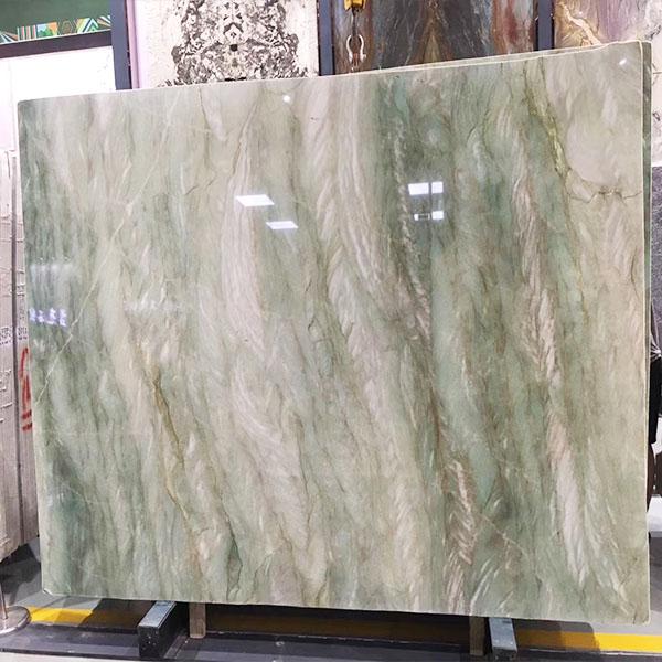 Green semi-precious stone