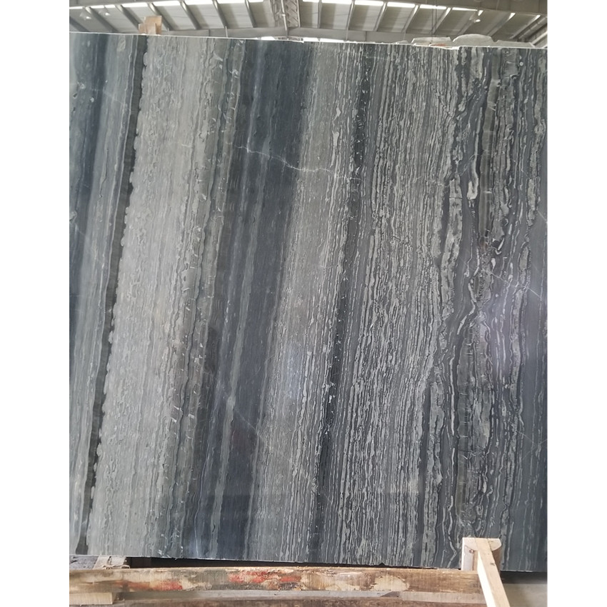 New Green Wood Vein Marble from China New Quarry