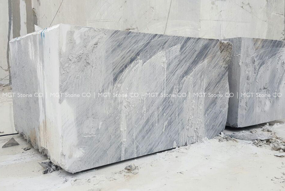 Grey Crystal Marble Block