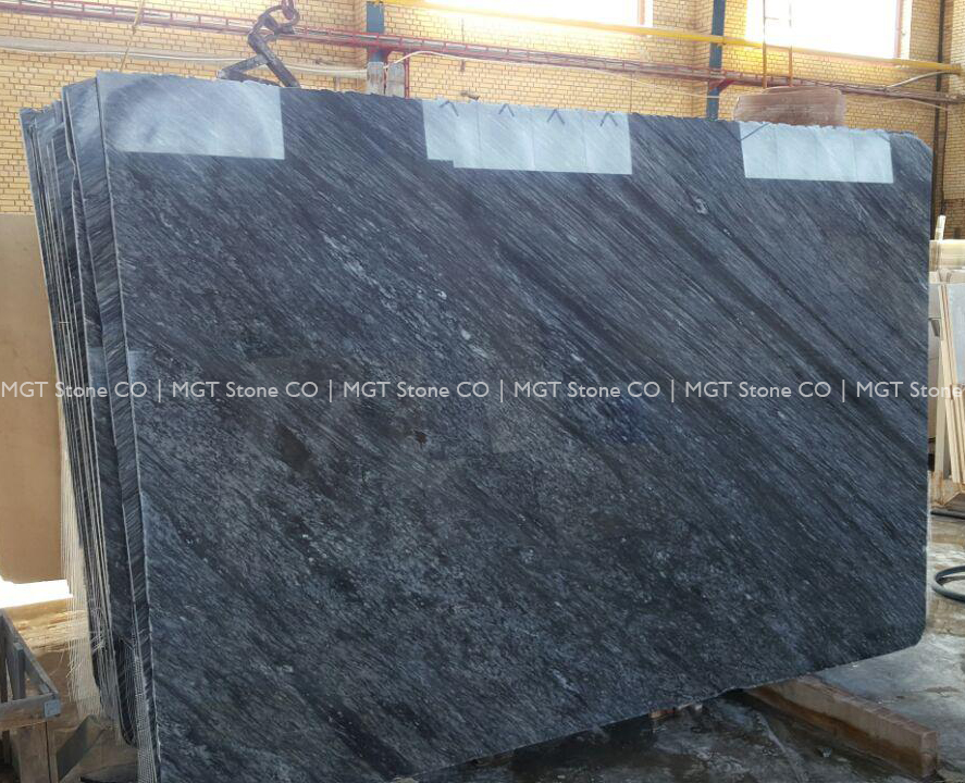 Grey Crystal Marble Slab