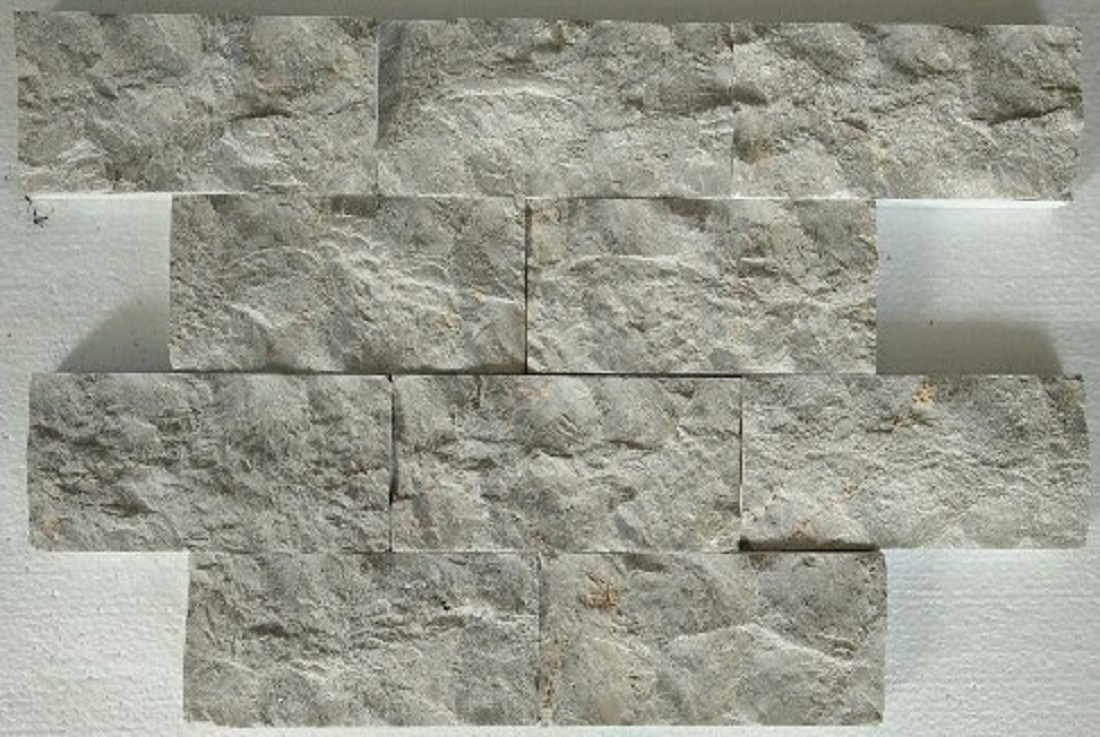 Bali Grey Marble  Split Face Wall Cladding