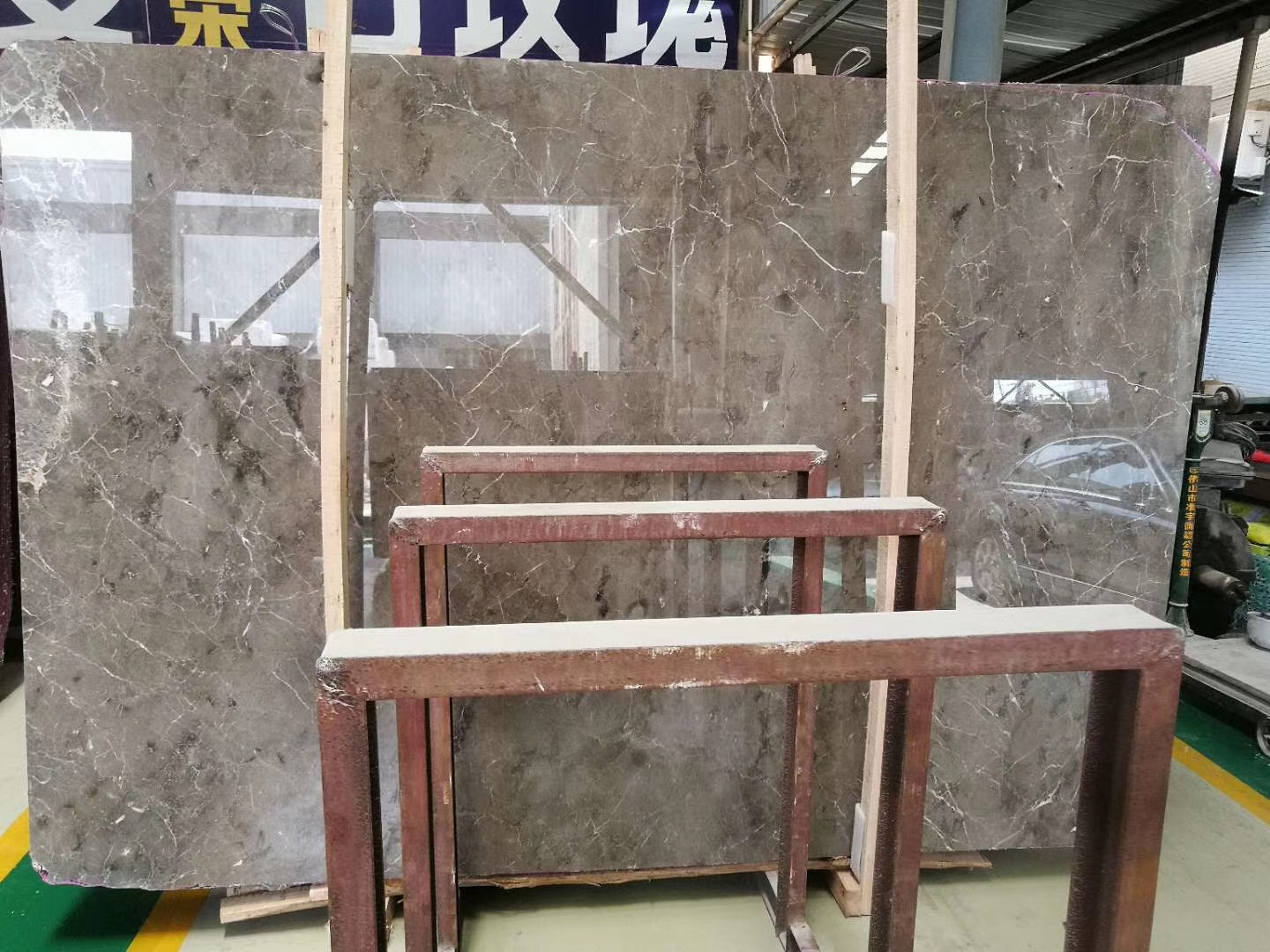 China Grey Marble with white white vein marble China Grey Marble