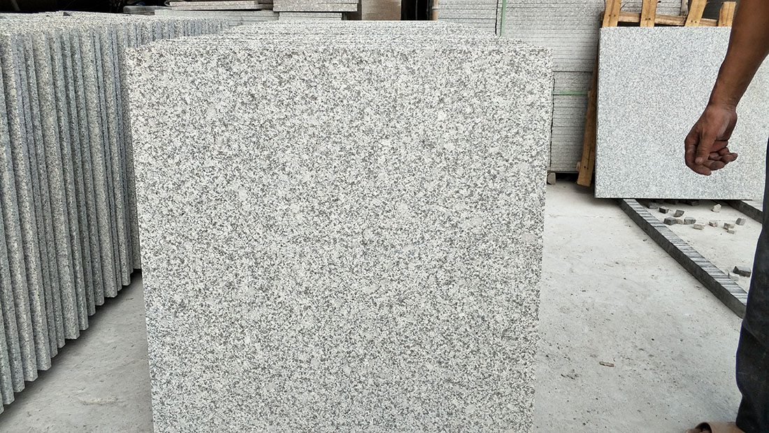 G603 Flamed Tiles Granite Flooring Stone