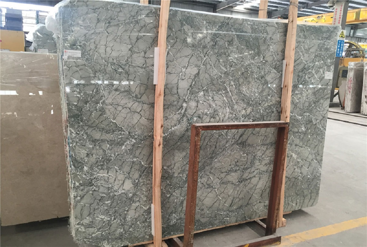 Grey Green Marble Slabs