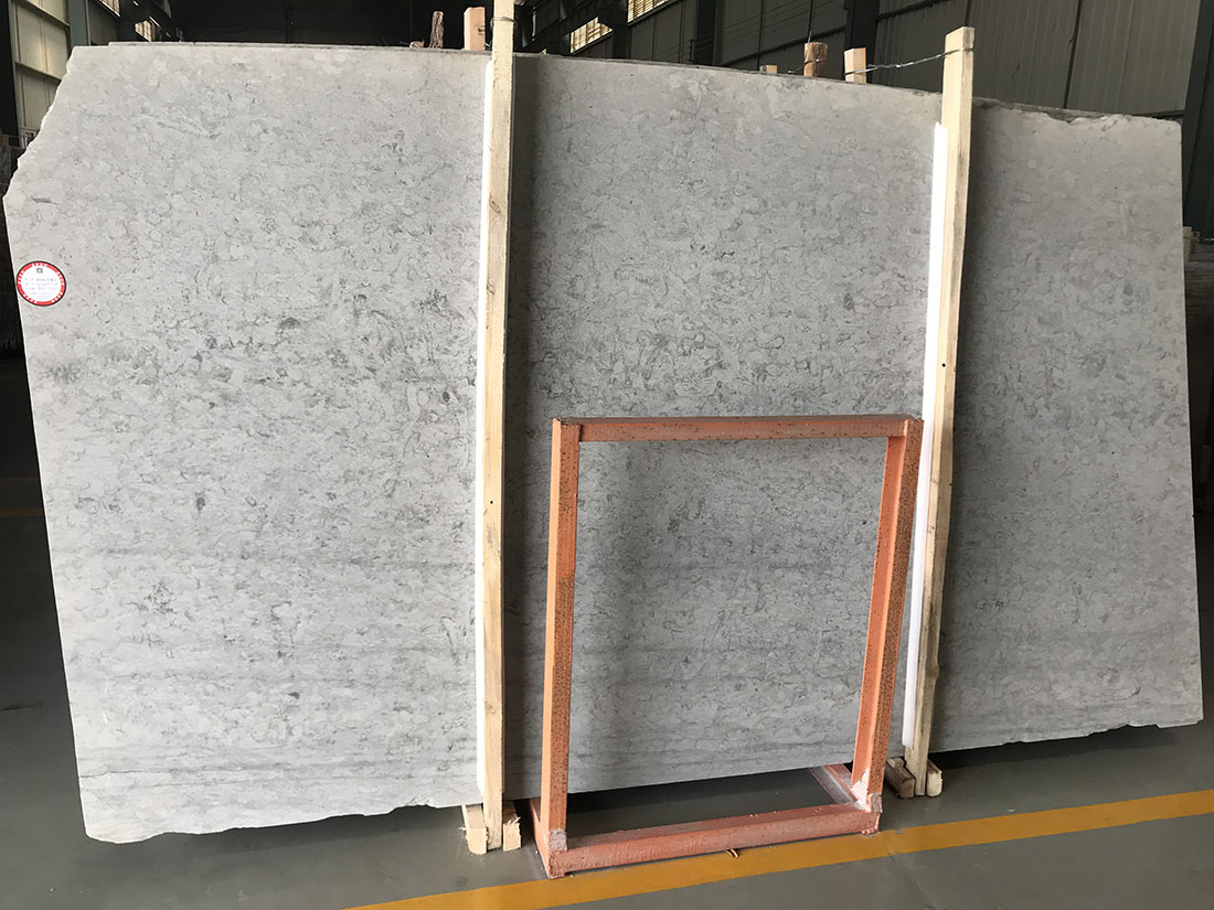 grey limestone slab