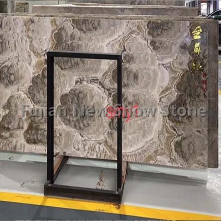 Grey luxury stone slab